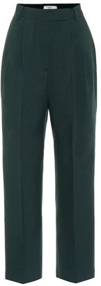 Frankie Shop Bea high-rise stretch-twill pants