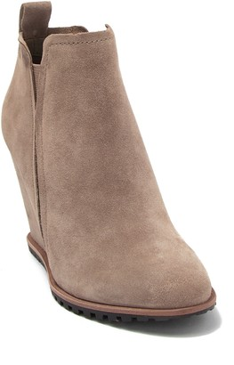 Dolce Vita Gianna Genuine Dyed Calf Hair Wedge Bootie
