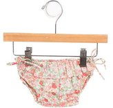 Bonpoint Girls' Ruffle-Trimmed Floral Print Bloomers