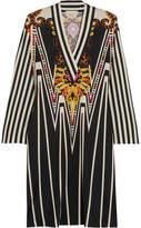 Etro Printed Silk-jersey Dress - Black