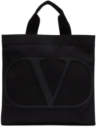 Valentino Black Garavani VLogo Tote
