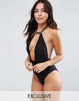 Wolfwhistle Wolf & Whistle Choker Necklace Swimsuit B/C - E/F Cup