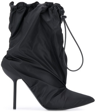 Unravel Project Drawstring Ankle Boots