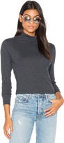 Nation Ltd. Allyn Mock Turtleneck Top