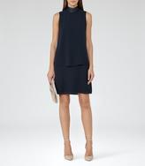 Reiss Chinti HIGH-NECK SHIFT DRESS
