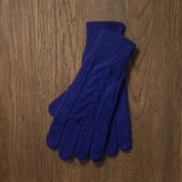 Rugby Cable-Knit Glove