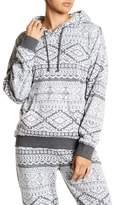 PJ Salvage Hoodie Geometric Print Pullover