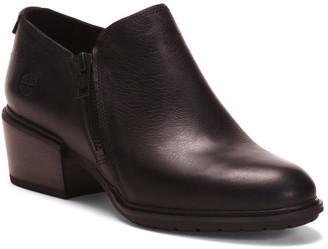 Leather Comfort Side Zip Shooties