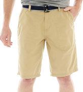 Jf J.Ferrar JF Belted Ripstop Shorts
