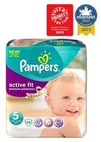 Pampers Active Fit Nappies Size 5 Essential Pack - 35 Nappies. - Pack of 2