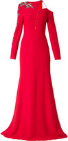 Antonio Berardi embellished asymmetric gown