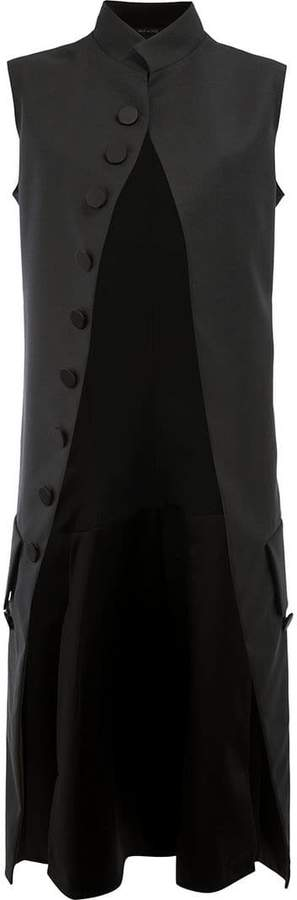 Maison Margiela sleeveless mid-length coat