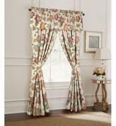 Rose Tree Lisburn 84-Inch Window Curtain Panel Pair in Orange