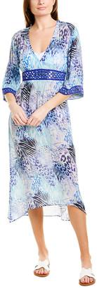 Taj By Sabrina Crippa Mirror Midi Dress