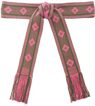 Pippa Holt Handwoven Fringed Tie Belt