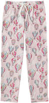Cath Kidston Hot Air Balloons Brushed Flannel Long PJ Bottoms