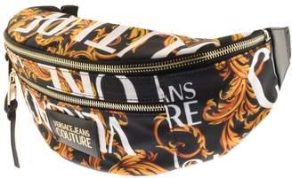 Versace Baroque Cross Body Bag Black
