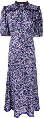 Rixo Floral Spot Print Dress