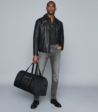 Reiss Robin - Slim Fit Jeans With Stretch in Black