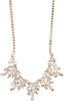 Natasha Accessories Crystal Cluster Statement Necklace