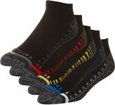 Rip Curl Pop Ankle Sock 5 Pack Black