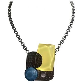 Philippe Ferrandis Yellow Metal Necklaces