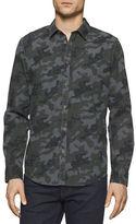 Calvin Klein Jeans Melange Camo Printed Woven Shirt