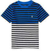 Ralph Lauren 2-7 Striped Cotton Pocket Tee