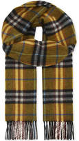 Burberry Castleford Cashmere Check Scarf