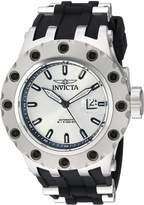Invicta Men's 'Subaqua' Automatic Stainless Steel and Silicone Casual Watch, Color:Black (Model: 20188)