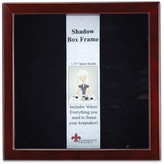 Lawrence Frames Espresso Wood Shadow Box 12x12 Picture Frame