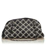 Chanel Pre-owned: Patent Leather Mademoiselle Bowling Bag.