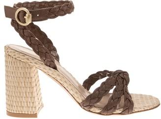 Gianvito Rossi Braided Sandals