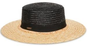 Steve Madden Fray Away Boater Hat
