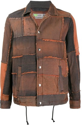 Diesel Upcycled Patchwork Denim Jacket