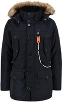 Tom Tailor Stan Winter Coat Knitted Navy