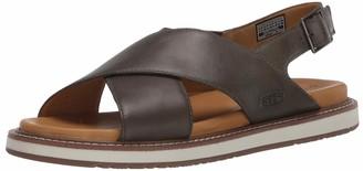 Keen Women's Cross Strap Casual Leather Sandal