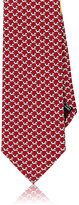 Salvatore Ferragamo MEN'S DOG-PRINT NECKTIE