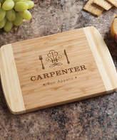 Bon Appetit Personalized Bamboo Cutting Board
