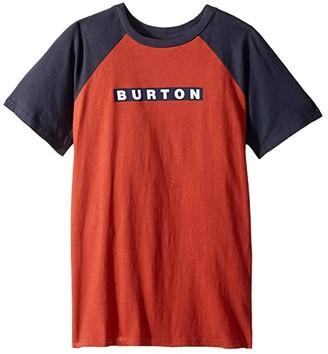 Burton Vault Short Sleeve T-Shirt (Little Kids/Big Kids) (Tandori) Boy's T Shirt
