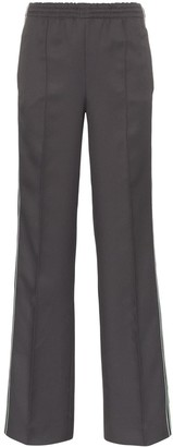 Prada side-stripe logo track pants