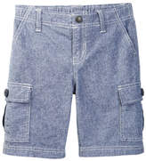 Tea Collection Chambray Cargo Short (Baby & Toddler Boys)