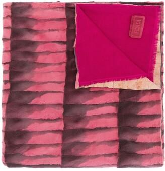 Fendi Pre-Owned Stripe Pattern Scarf
