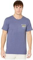 Salty Crew Bigmouth Short Sleeve Tee (Navy Heather) Men's T Shirt