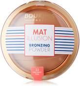 Bourjois Paris Mat Illusion Bronzing Powder - 22 Dark