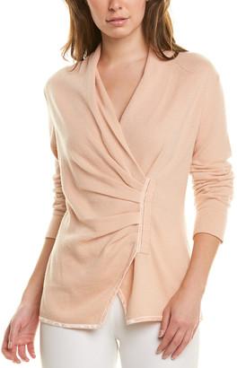Lafayette 148 New York Asymmetrical Cashmere Sweater