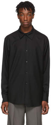 Wooyoungmi Black Collar Detail Shirt