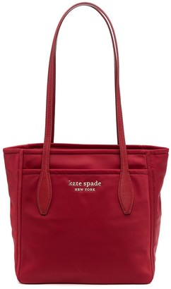 Kate Spade Logo Plaque Tote