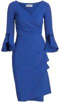 Chiara Boni Trina Ruffle Sheath Dress