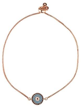 Mocha Small Circle Of Life Bracelet-Rosegold